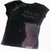YesNoMaybe - Ladies Charcoal Raw Cut Streetglam T