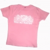 YesNoMaybe - Ladies Pink Crests T
